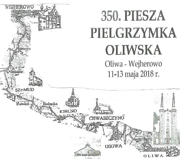 Trasa 350 pielgrzymki oliwskiej
